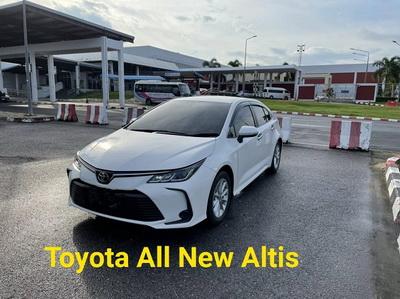รถเช่าหาดใหญ่ Toyota All New Altis